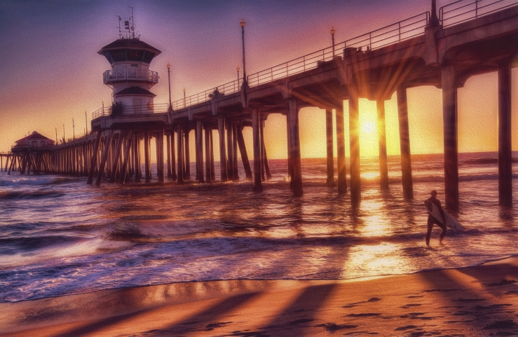 Huntington Beach Pier shutterstock_259186475