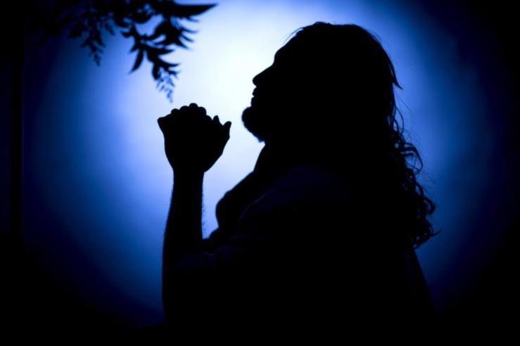 Jesus Praying shutterstock_614274248