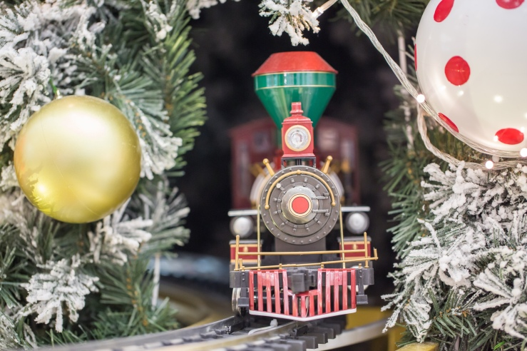 Christmas Toy Train shutterstock_235697761