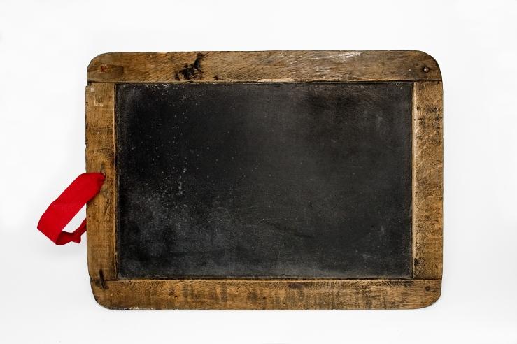 Old Blackboard shutterstock_933526